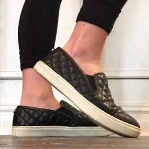 Steve Madden Ecentrcq Slip-On Sneakers (Black)